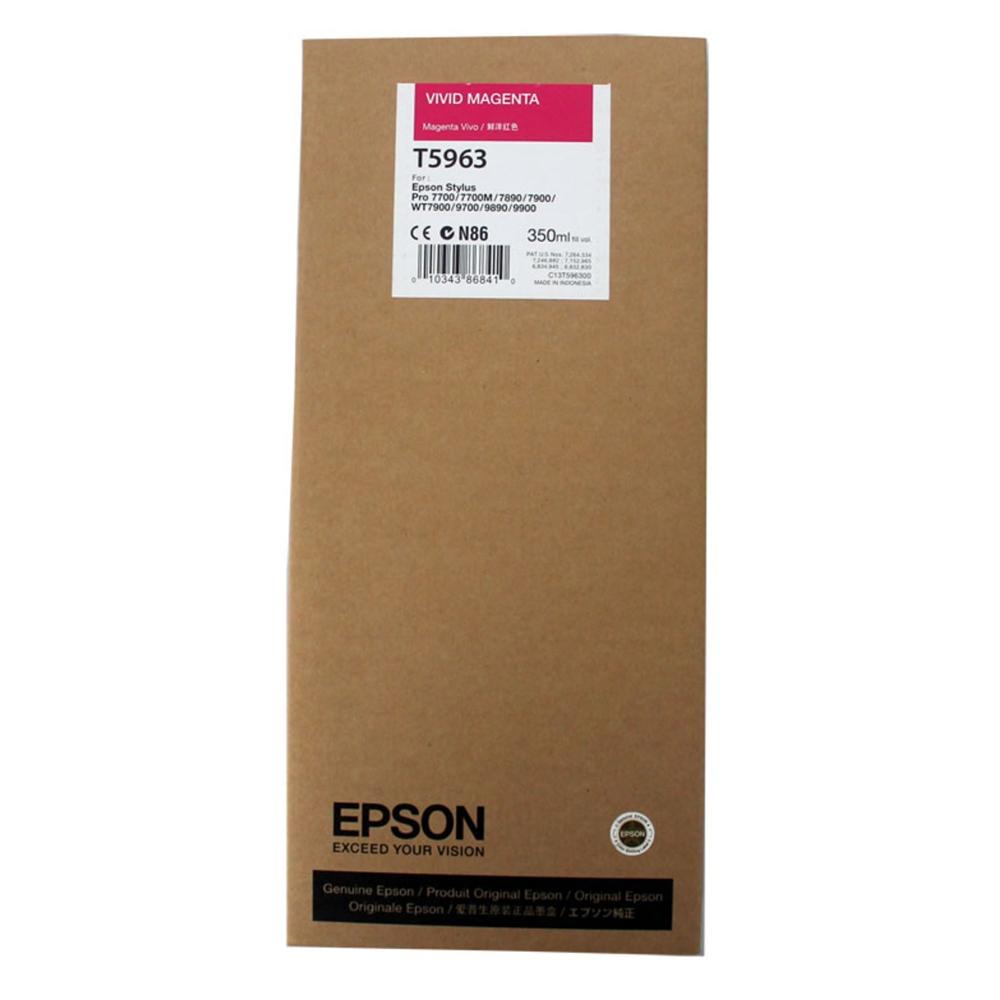 Epson Μελάνι Inkjet T5963 Magenta (C13T596300) (EPST596300)