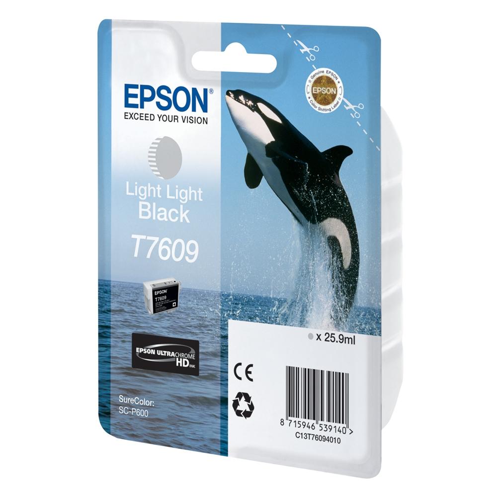 Epson Μελάνι Inkjet T7609 Light Light Black (C13T76094010) (EPST760940)