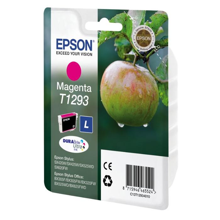Epson Μελάνι Inkjet T1293 Magenta (C13T12934012) (EPST129340)