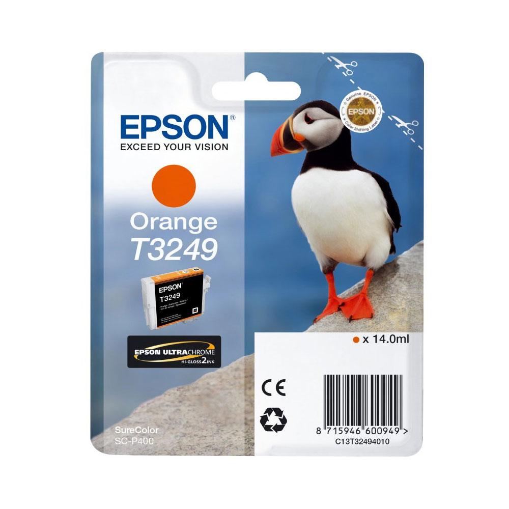Epson Μελάνι Inkjet T3249 Orange (C13T32494010) (EPST324940)