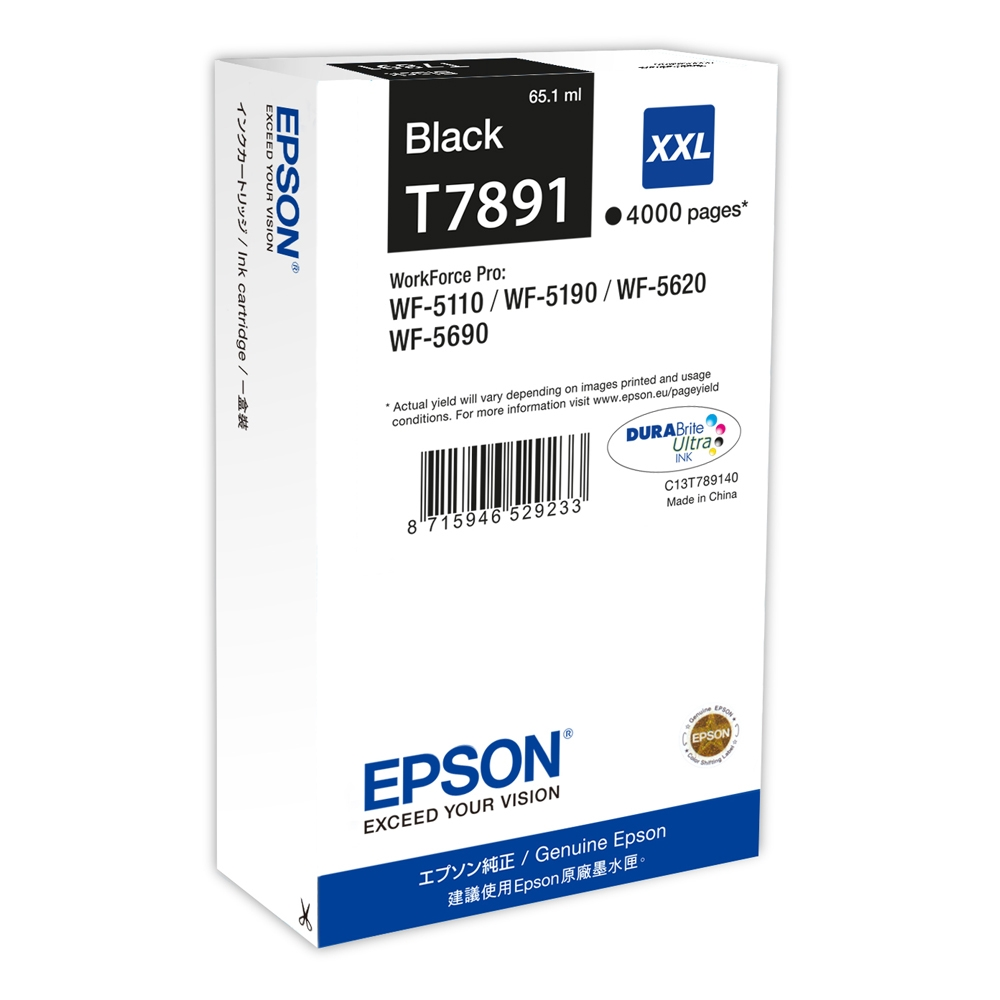 Epson Μελάνι Inkjet T789 XXL Black (C13T789140) (EPST789140)
