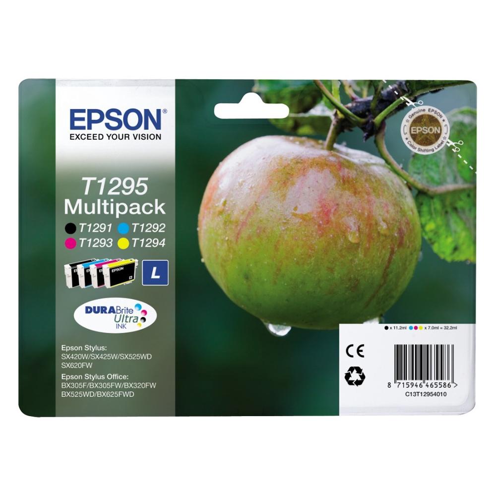 Epson Μελάνι Inkjet T1295 Multipack (C13T12954012) (EPST129540)