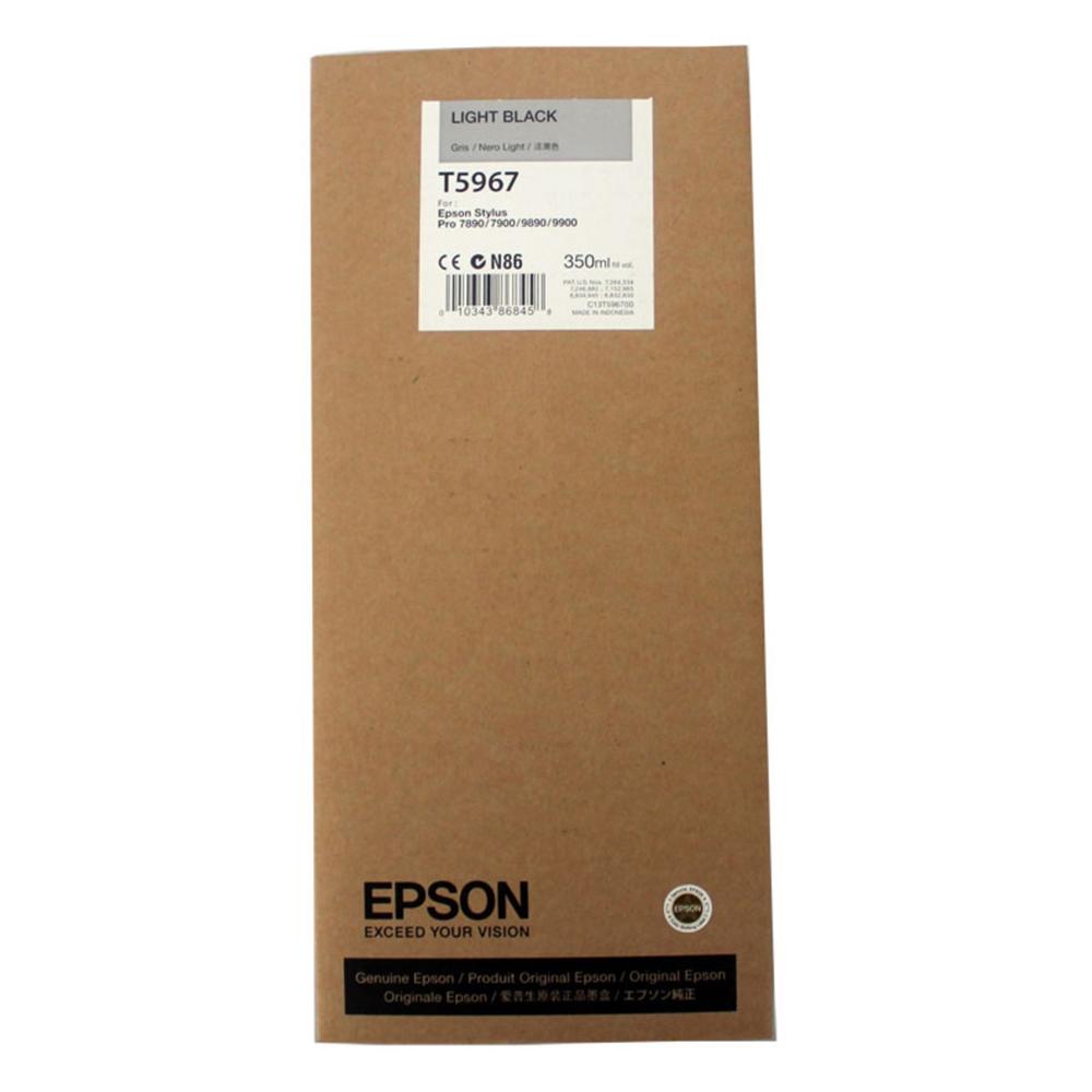 Epson Μελάνι Inkjet T5967 Light Black (C13T596700) (EPST596700)