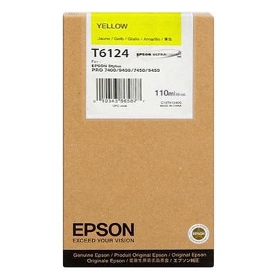 Epson Μελάνι Inkjet T6114 Yellow (C13T611400) (EPST611400)