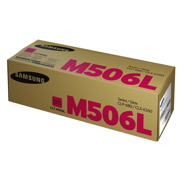 Samsung CLT-M506L High Yield Magenta Toner Cartridge (SU305A) (HPCLTM506L)