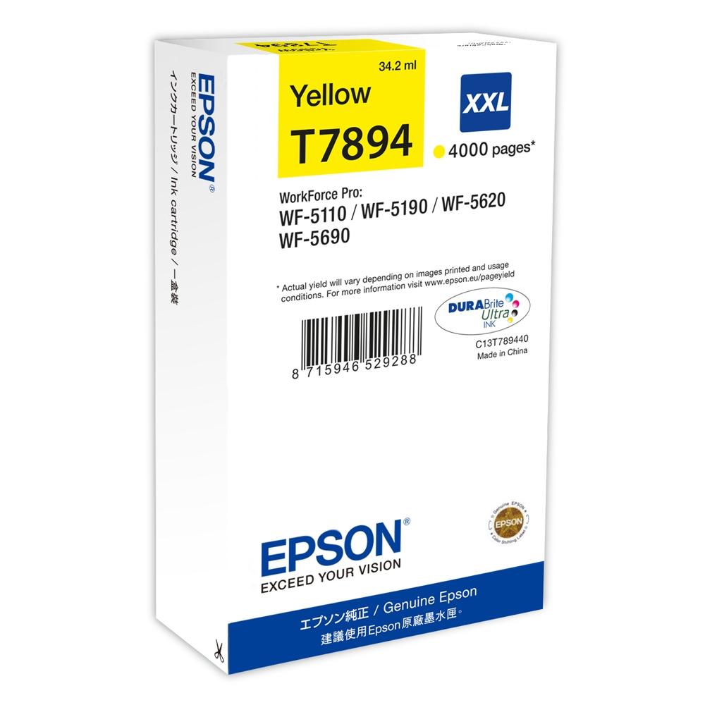 Epson Μελάνι Inkjet T789 XXL Yellow (C13T789440) (EPST789440)