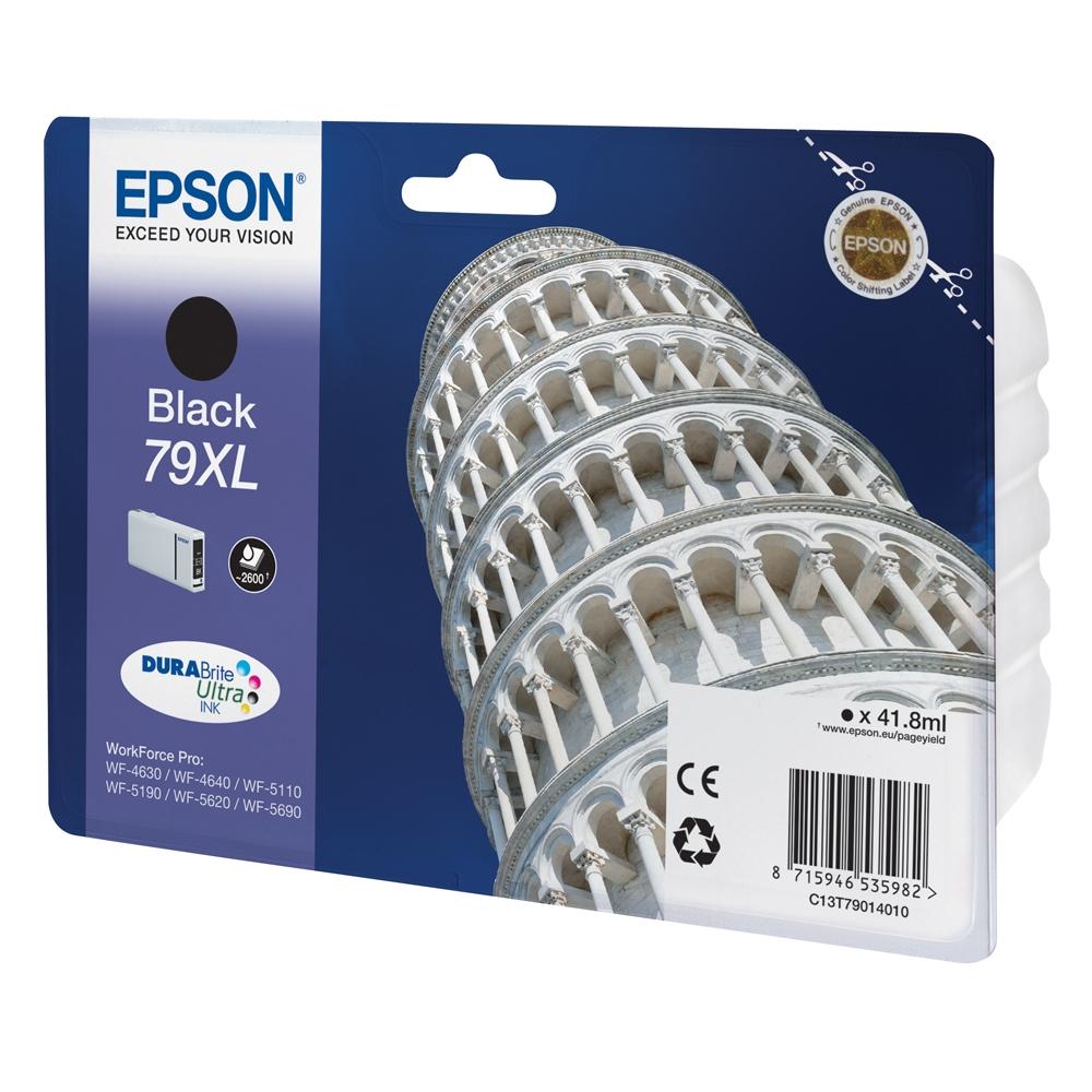 Epson Μελάνι Inkjet Series 79 XL Black (C13T79014010) (EPST790140)