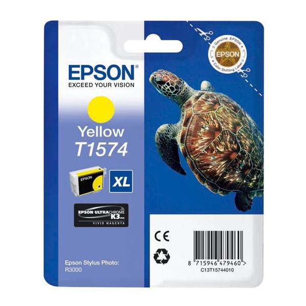 Epson Μελάνι Inkjet T1574 XL Yellow (T15744010) (EPST157440)