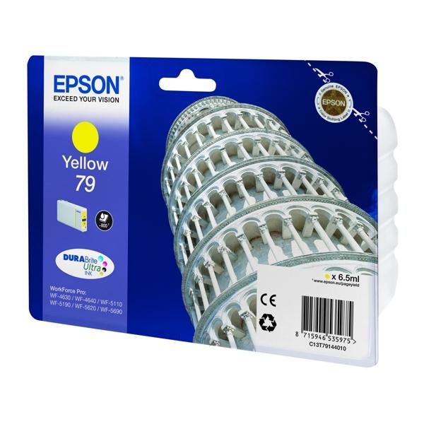 Epson Μελάνι Inkjet Series 79 Yellow (C13T79144010) (EPST791440)