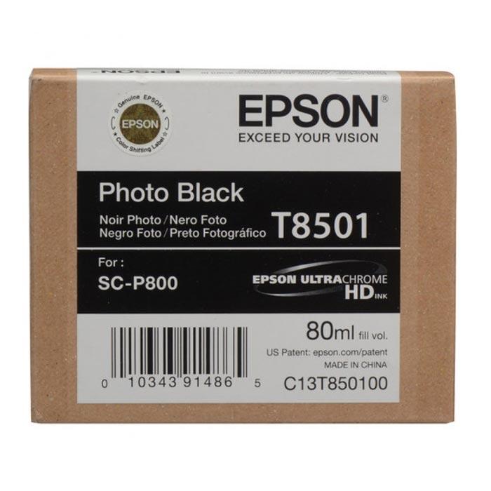 Epson Μελάνι Inkjet T8501 Black (EPST850100)