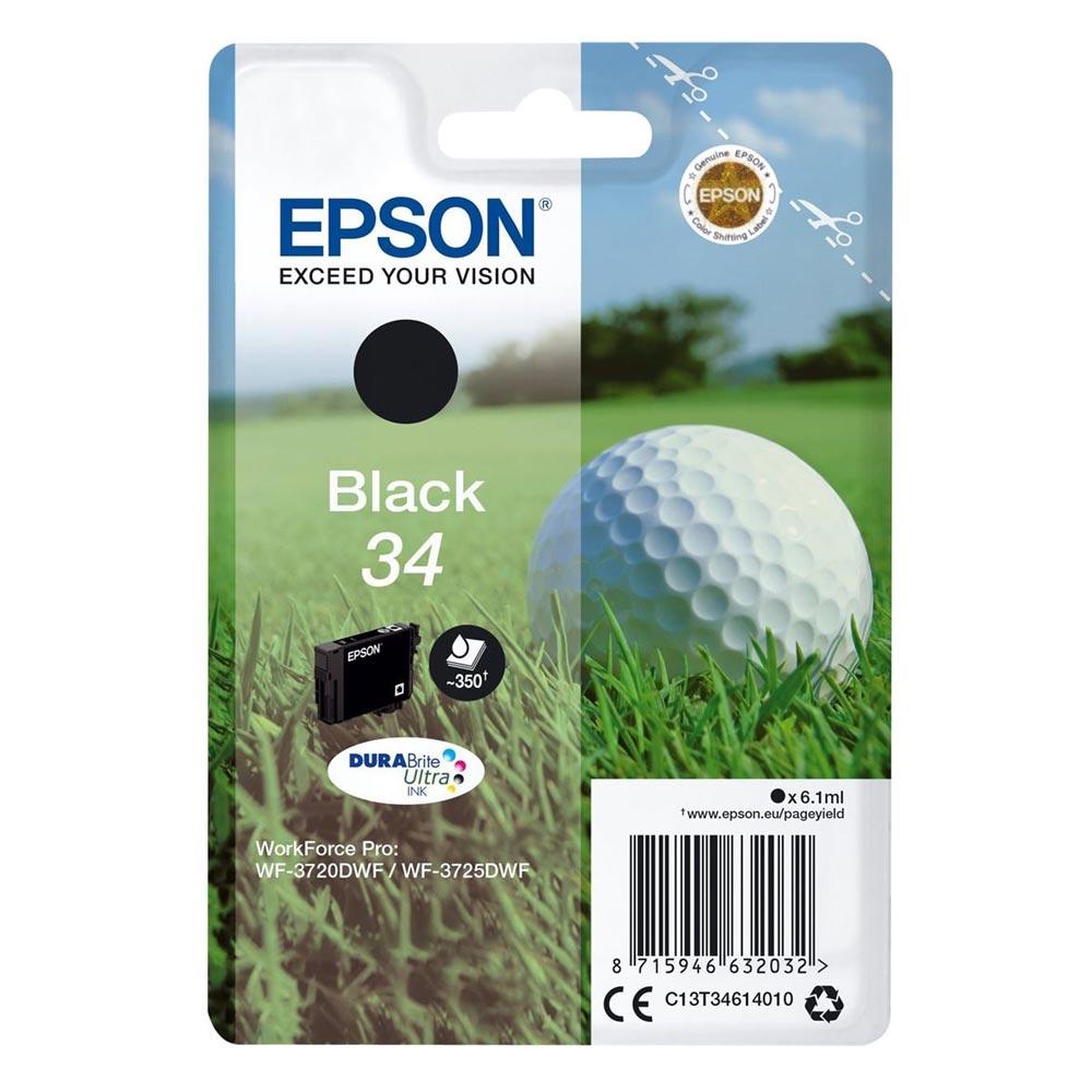 Epson Μελάνι Inkjet No.34 Black (C13T34614010) (EPST346140)