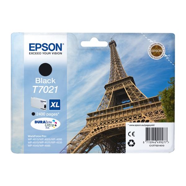 Epson Μελάνι Inkjet T7021 XL Black (C13T70214010) (EPST702140)