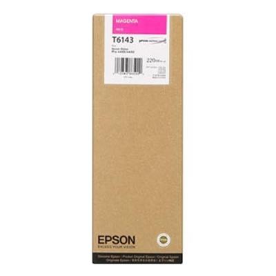 Epson Μελάνι Inkjet T6143 Magenta (C13T614300) (EPST614300)