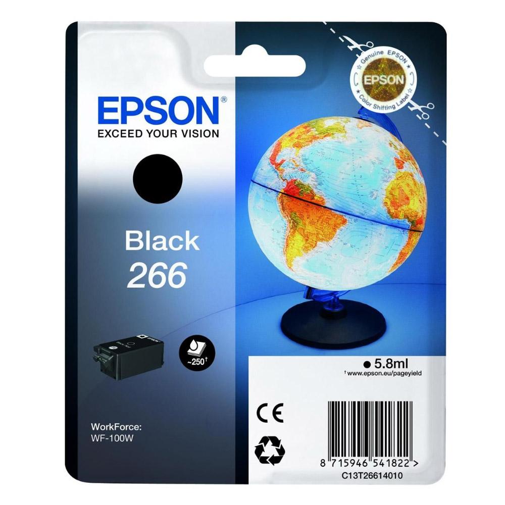 Epson Μελάνι Inkjet Series 266 Black  (C13T26614010) (EPST266140)