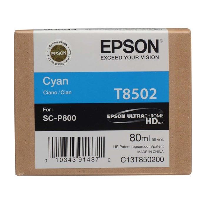 Epson Μελάνι Inkjet T8502 Cyan (EPST850200)