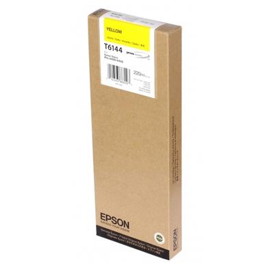 Epson Μελάνι Inkjet T6144 Yellow (C13T614400) (EPST614400)