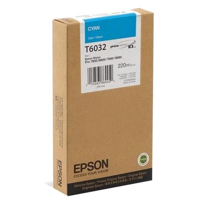Epson Μελάνι Inkjet T6032 Cyan (C13T603200) (EPST603200)