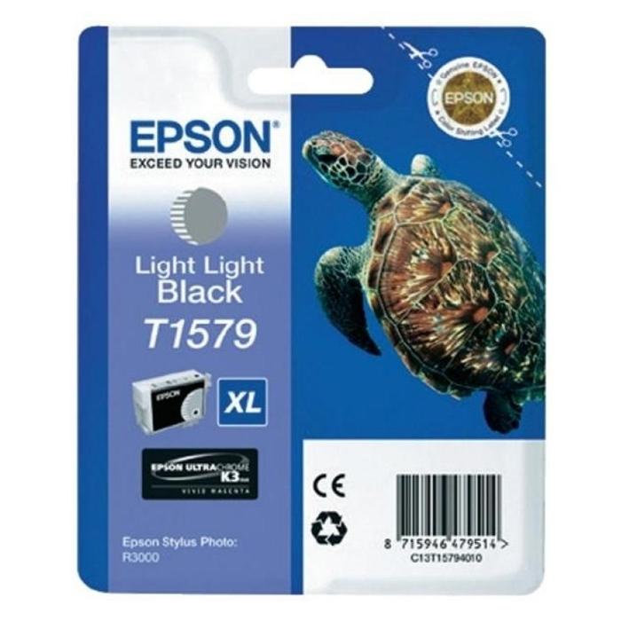 Epson Μελάνι Inkjet T1579 XL Light Light Black (T15794010) (EPST157940)