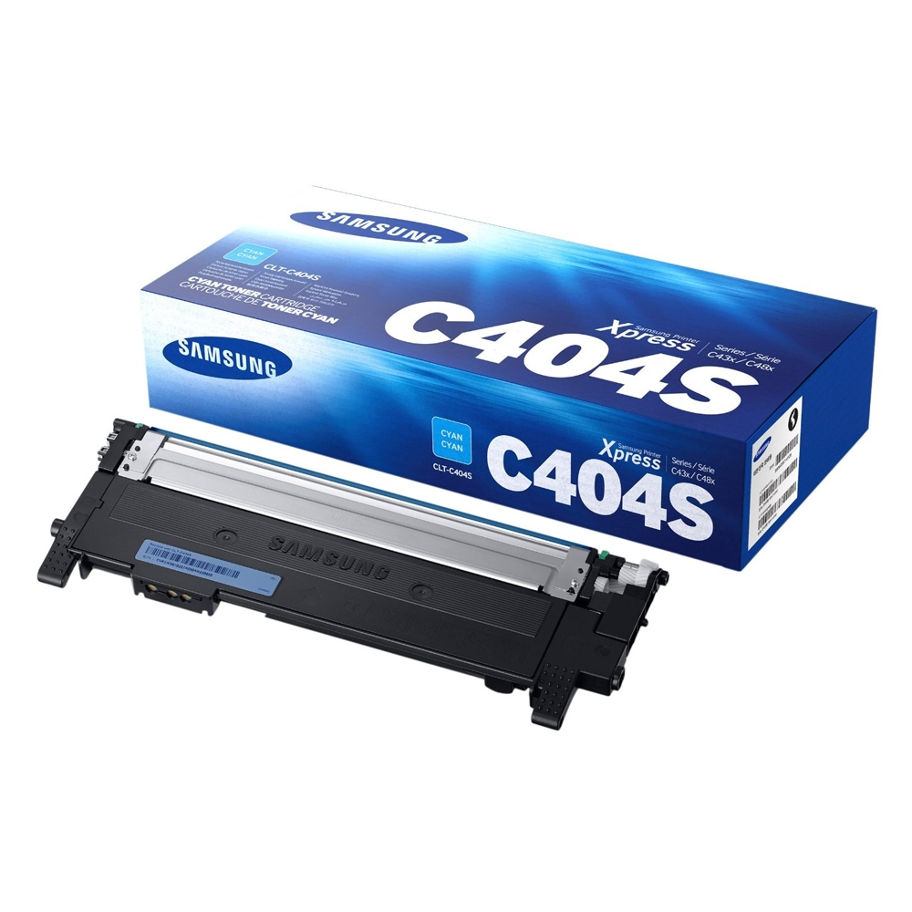 Samsung CLT-C404S Cyan Toner Cartridge (ST966A) (HPCLTC404S)