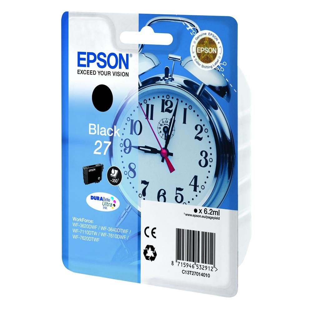 Epson Μελάνι Inkjet Series 27 Black (C13T27014012) (EPST270140)