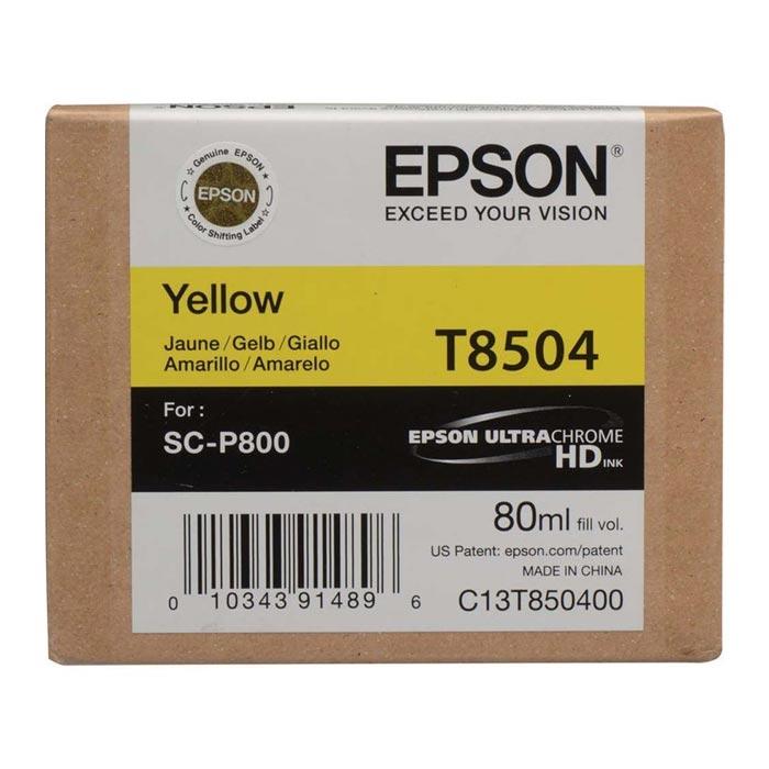 Epson Μελάνι Inkjet T8504 Yellow (EPST850400)