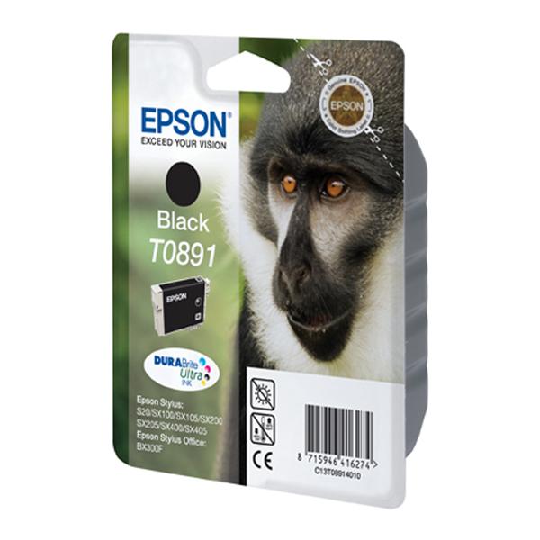 Epson Μελάνι Inkjet T0891 Black (C13T08914011) (EPST089140)