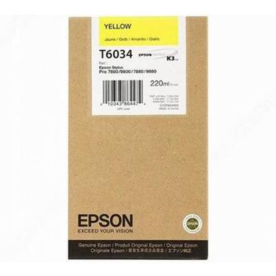 Epson Μελάνι Inkjet T6034 Yellow (C13T603400) (EPST603400)