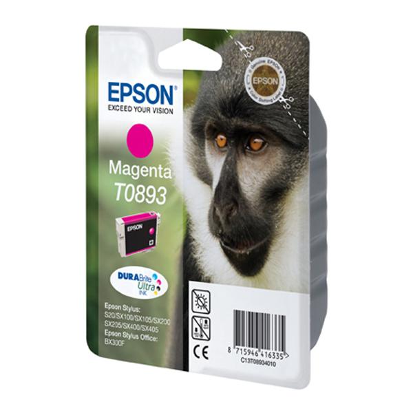 Epson Μελάνι Inkjet T0893 Magenta (C13T08934010) (EPST089340)