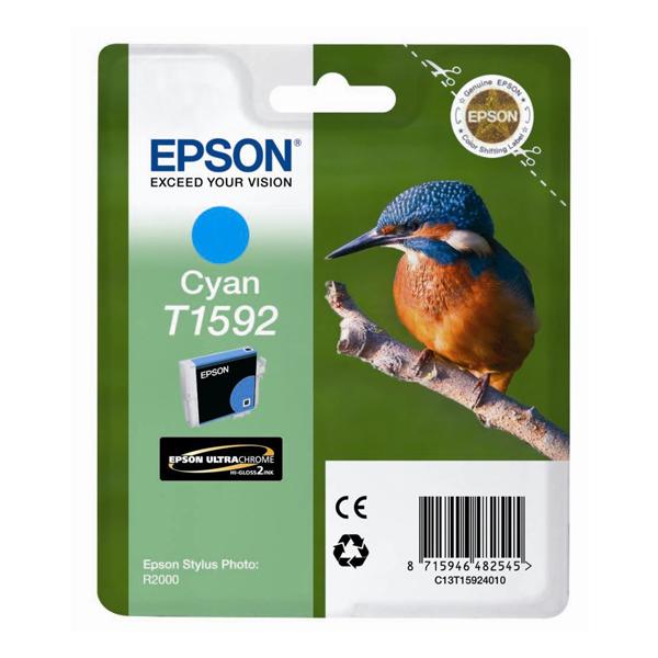 Epson Μελάνι Inkjet T1592 Cyan (T15924010) (EPST159240)