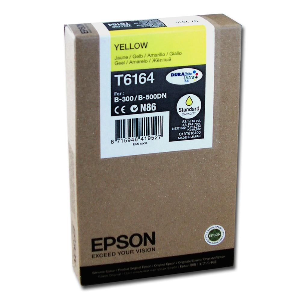 Epson Μελάνι Inkjet T6164 Yellow (C13T616400) (EPST616400)