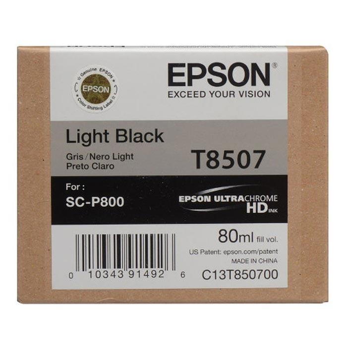 Epson Μελάνι Inkjet T8507 Light Black (EPST850700)