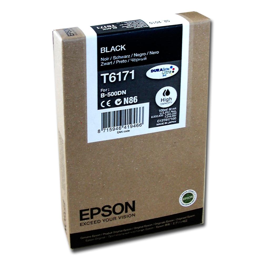 Epson Μελάνι Inkjet T6171 High Capacity Black (C13T617100) (EPST617100)