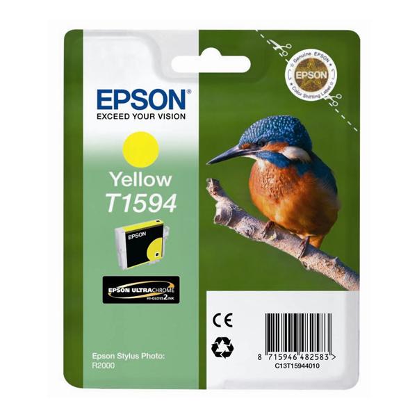 Epson Μελάνι Inkjet T1594 Yellow (T15944010) (EPST159440)