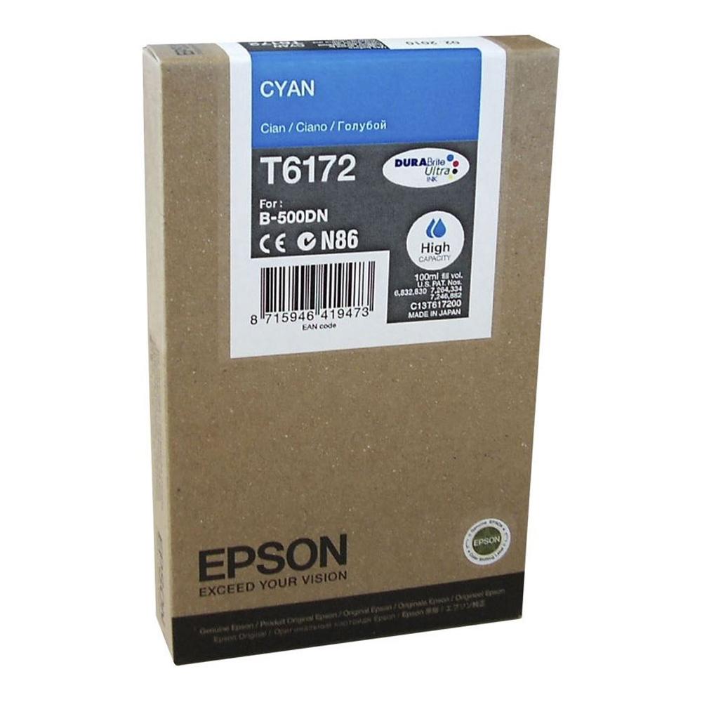 Epson Μελάνι Inkjet T6172 High Capacity Cyan (C13T617200) (EPST617200)