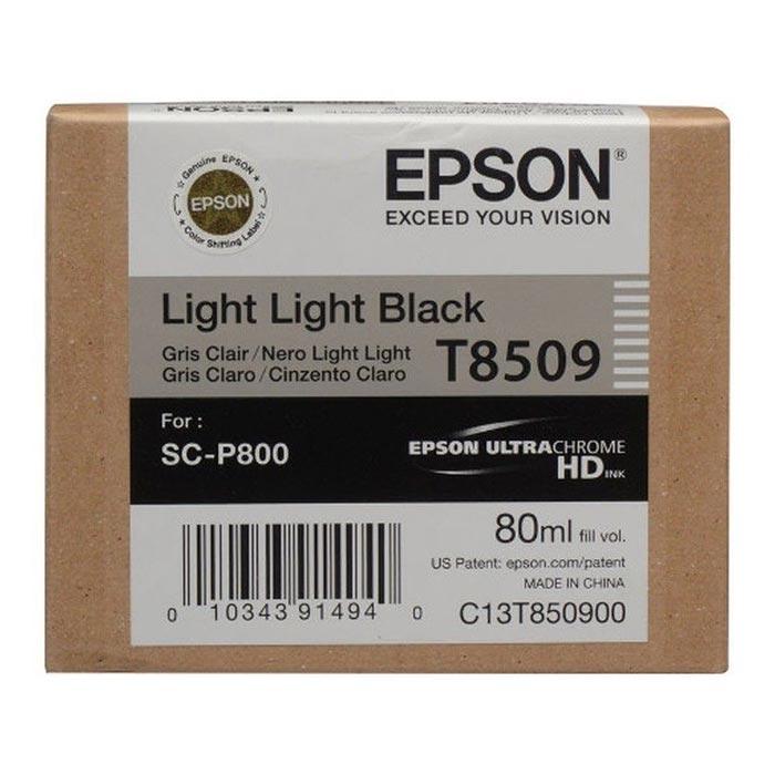 Epson Μελάνι Inkjet T8509 Light Light Black (EPST850900)