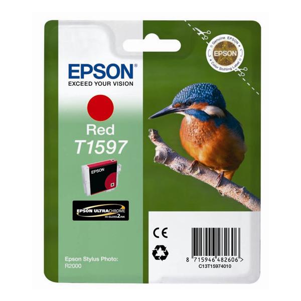 Epson Μελάνι Inkjet T1597 Red (T15974010) (EPST159740)