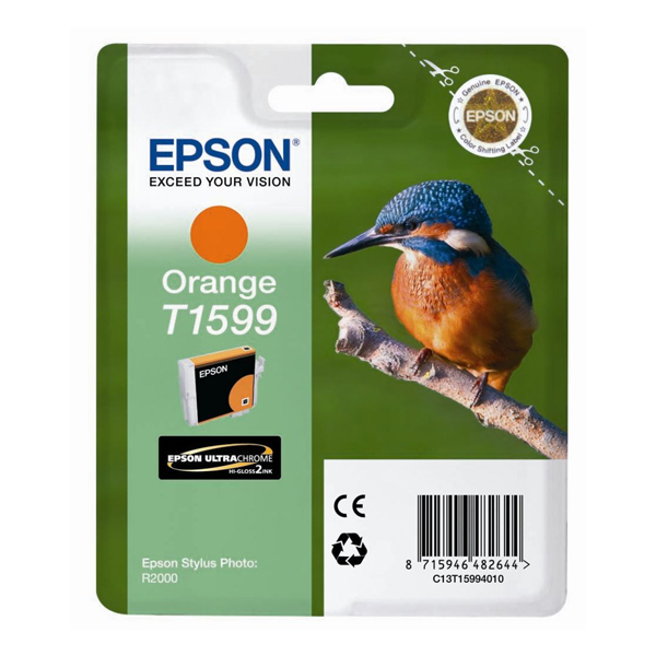 Epson Μελάνι Inkjet T1599 Orange (T15994010) (EPST159940)