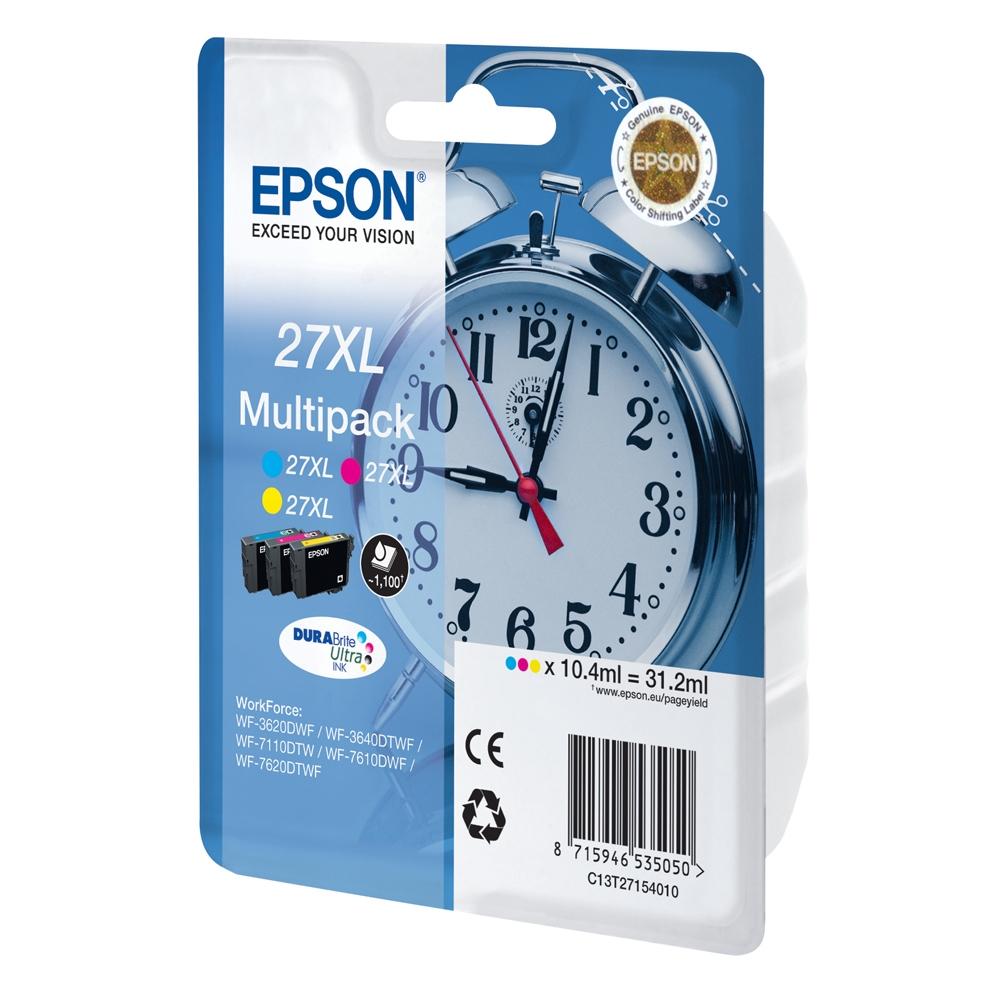 Epson Μελάνι Inkjet Series 27 XL Multipack 3-color (C13T27154012) (EPST271540)