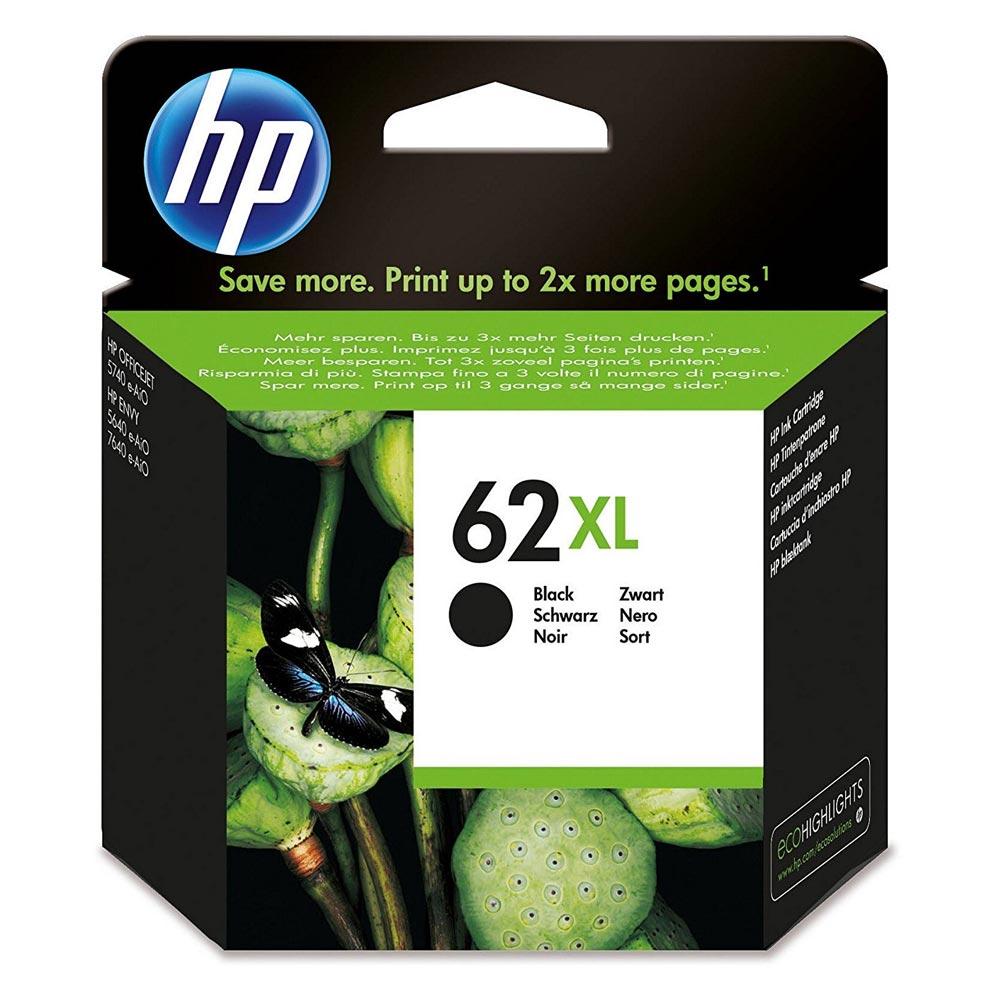 HP Μελάνι Inkjet No.62XL Black (C2P05AE) (HPC2P05AE)
