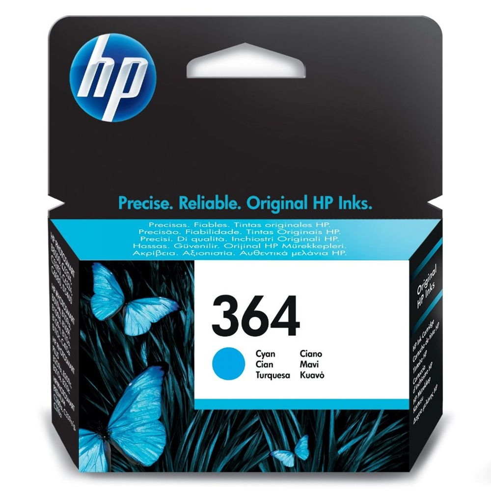 HP Μελάνι Inkjet Nο.364 Cyan (CB318EE) (HPCB318EE)