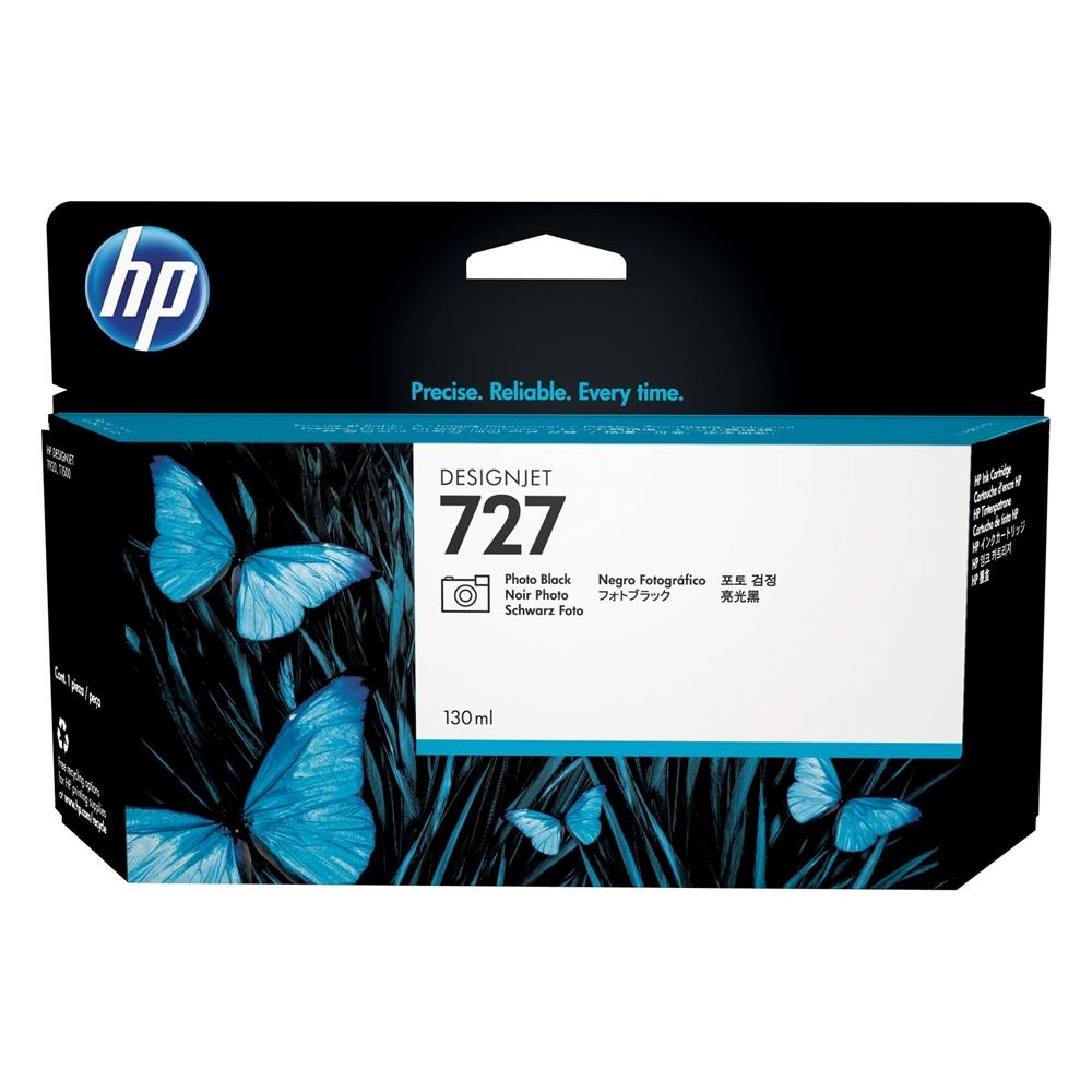 HP Μελάνι Inkjet No.727 Photo Black (130ml) (B3P23A) (HPB3P23A)
