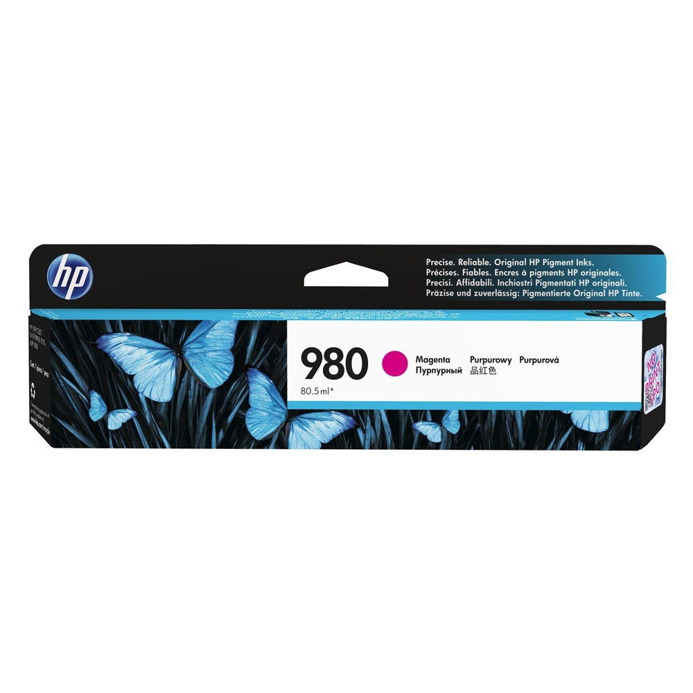 HP Μελάνι Inkjet No.980 Magenta (D8J08A) (HPD8J08A)