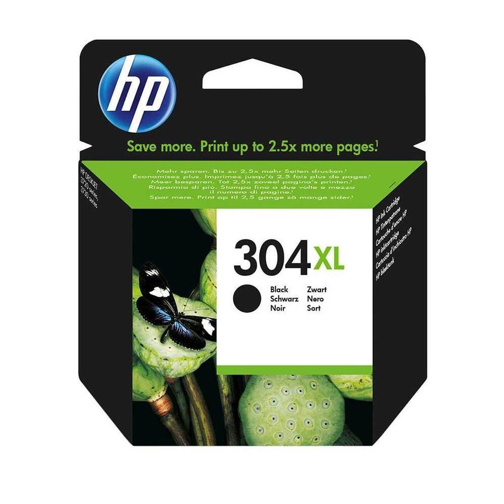HP Μελάνι Inkjet No.304XL Black (N9K08AE) (HPN9K08AE)