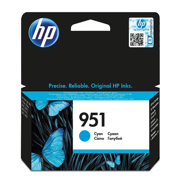 HP Μελάνι Inkjet 951 Cyan (CN050AE) (HPCN050AE)
