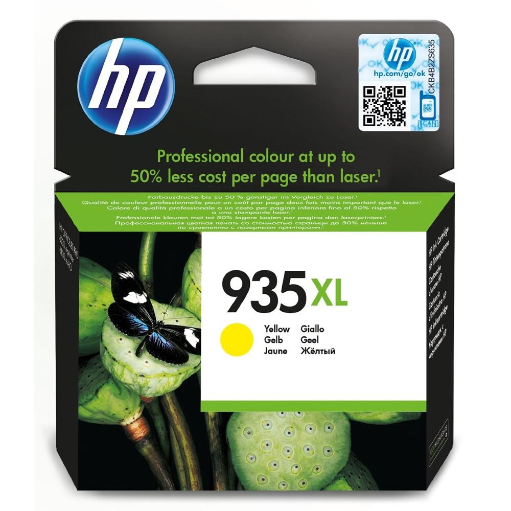 HP Μελάνι Inkjet No.935XL Yellow (C2P26AE) (HPC2P26AE)