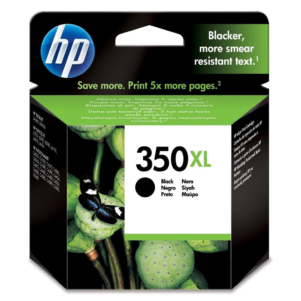 HP Μελάνι Inkjet Nο.350XL Black (CB336EE) (HPCB336EE)