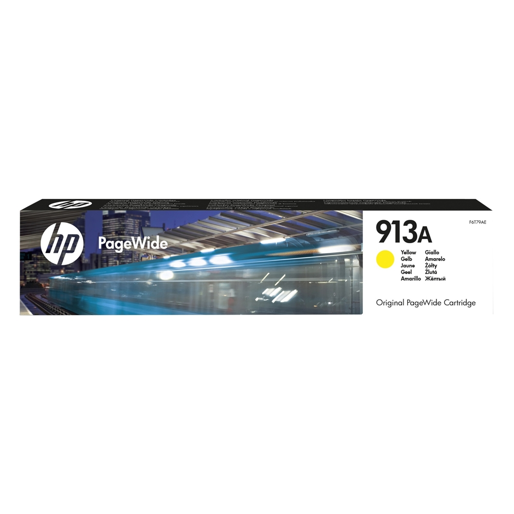 HP Μελάνι Inkjet 913A Yellow (F6T79AE) (HPF6T79AE)