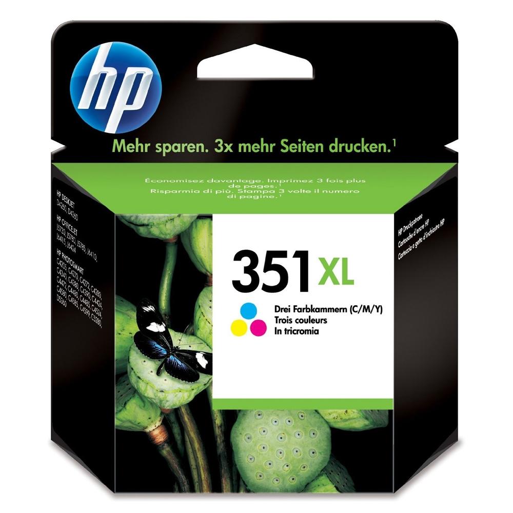HP Μελάνι Inkjet Nο.351XL Colour (CB338EE) (HPCB338EE)