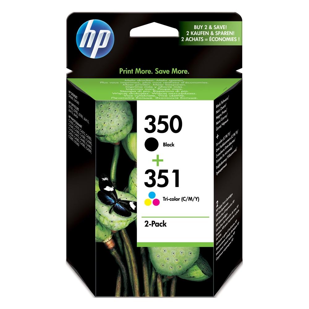 HP Μελάνι Inkjet 2-pack No.350 & No.351 (SD412EE) (HPSD412EE)