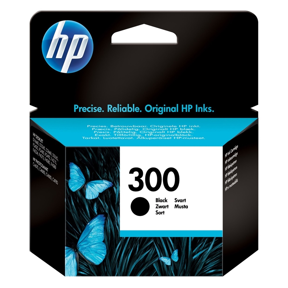 HP Μελάνι Inkjet Nο.300 Black (CC640EE) (HPCC640EE)